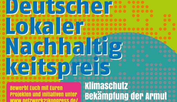 Plakat Deutscher Lokaler Nachhaltigkeitspreis ZeitzeicheN 2016