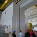 Großes Montagetor der Halle von Wendelstein