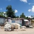 Straßenszene Haiti
